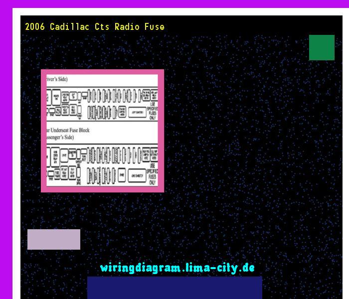 43d1e7ec5681c3965e5eba1da5721af0 2006 cadillac cts radio fuse wiring diagram 175911 amazing