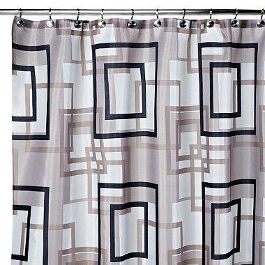 Lexington 108 Inch X 72 Fabric Shower Curtain