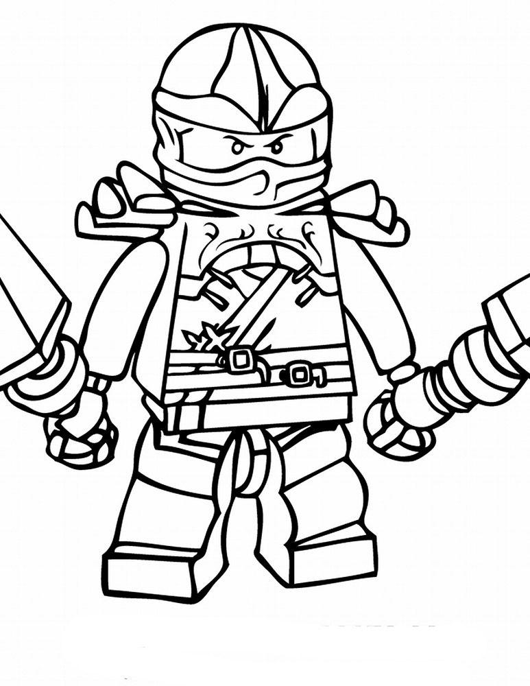 lego ninjago coloring pages kleurplaten tekenen kinderen