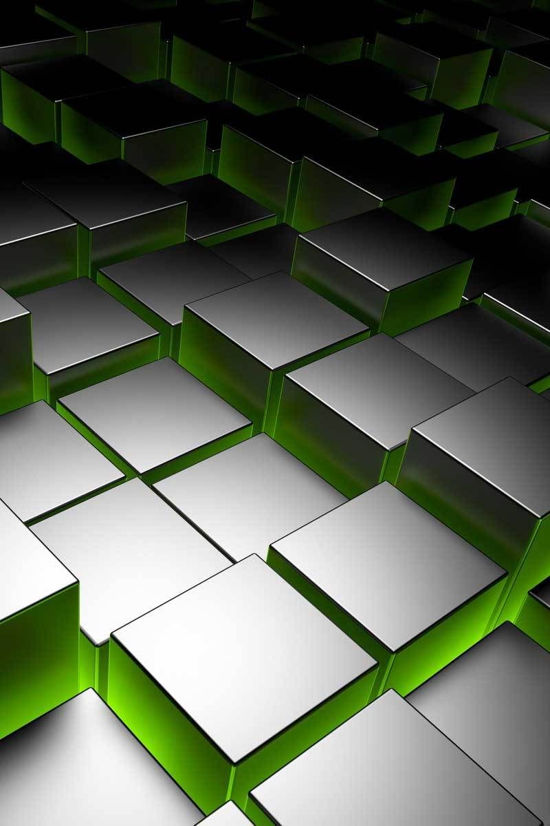 Abstract Black And Green Square Wall 3d Hd Mobile Wallpaper Abstract Black And Green Square Wall Mobile Wallpaper Iphone Wallpaper Video Phone Wallpaper Design