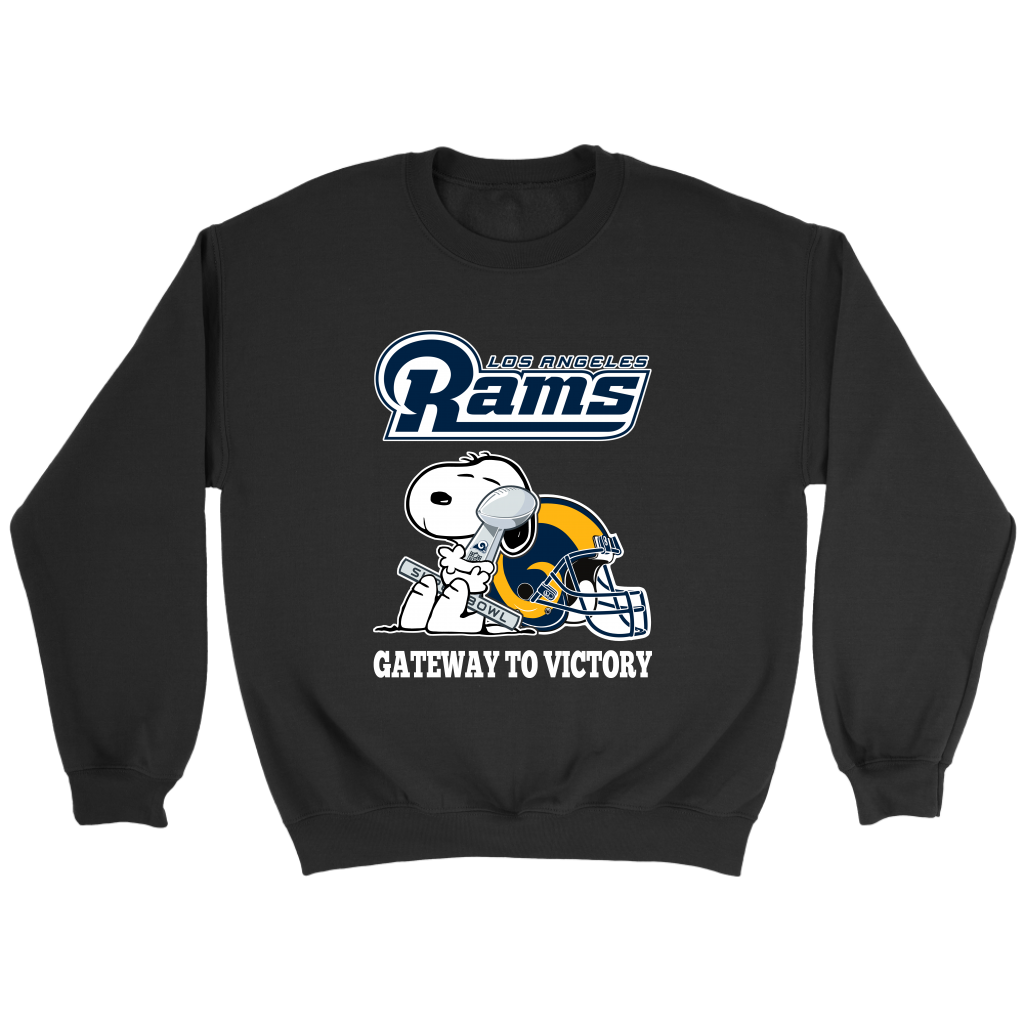 Los Angeles Rams Gateway To Victory Super Bowl 2019 Snoopy Football Shirts  NFL. Which Football Team Do You Root For . And you immediately answer is  Los ... 4e24b0f1c