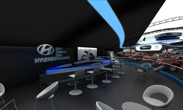 Hyundai Salon automovil 2012 by Daniel Ariza, via Behance