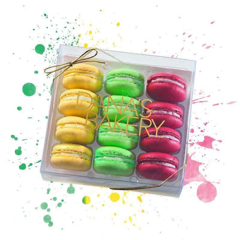 Mimosa Macaron, Mint Julep Macaron, Cosmopolitan Macaron - Dana's Bakery