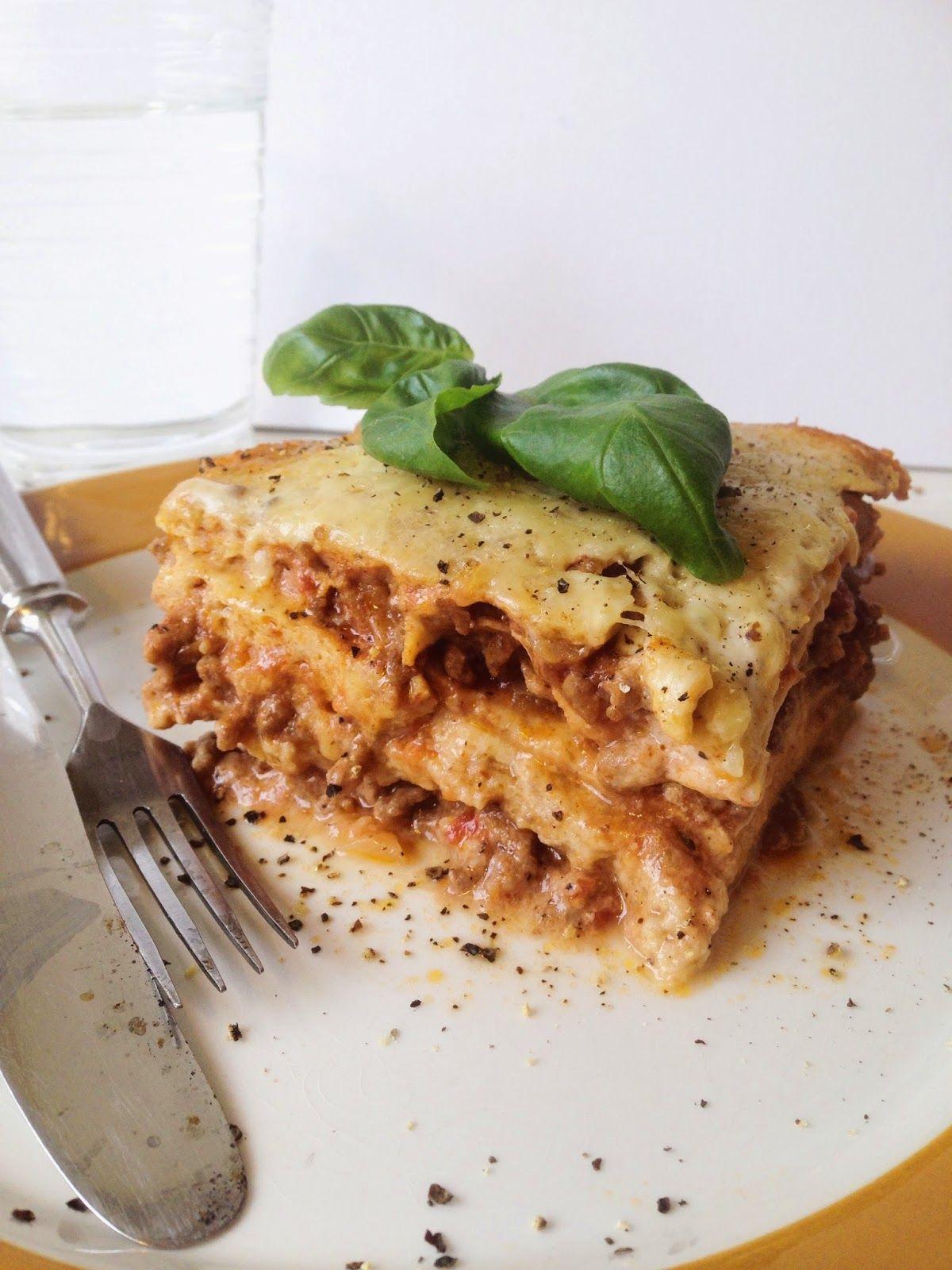 Karppaajan vähähiilihydraattinen lasagne