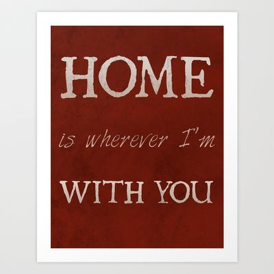 """""""Home"""" Print Art Print by Grace Kelly McConnell - $16.00"""