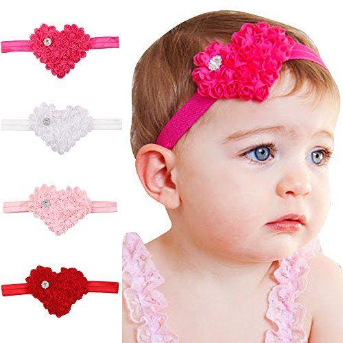 8pcs flower baby headband kids toddler headwear children girl hair accessories