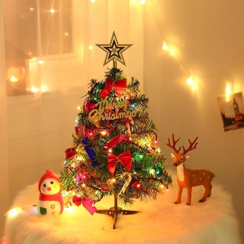 Christmas Tree Supply 2021 Christmas Tree With Lights In 2021 Mini Christmas Tree Small Christmas Trees Led Christmas Tree