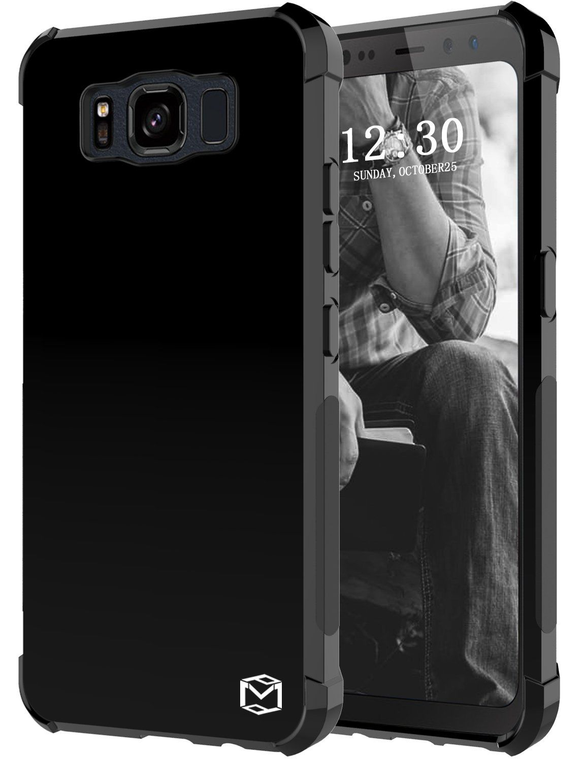pick up 82e0e dc412 Galaxy S8 Active Case, MP-MALL [Slim Fit] [Shockproof] Flexible TPU ...