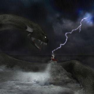 Thor vs Jormundgand @ Ragnarok