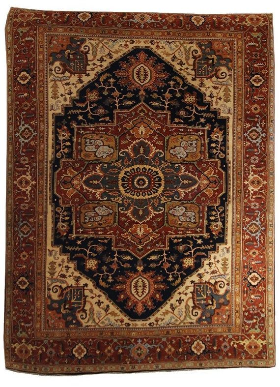 9x12 Serapi Area Rug Home Decor Traditional Area Rug 9x12 Handmade Rug Antique Rug In 2020 With Images 9x12 Area Rugs Rugs
