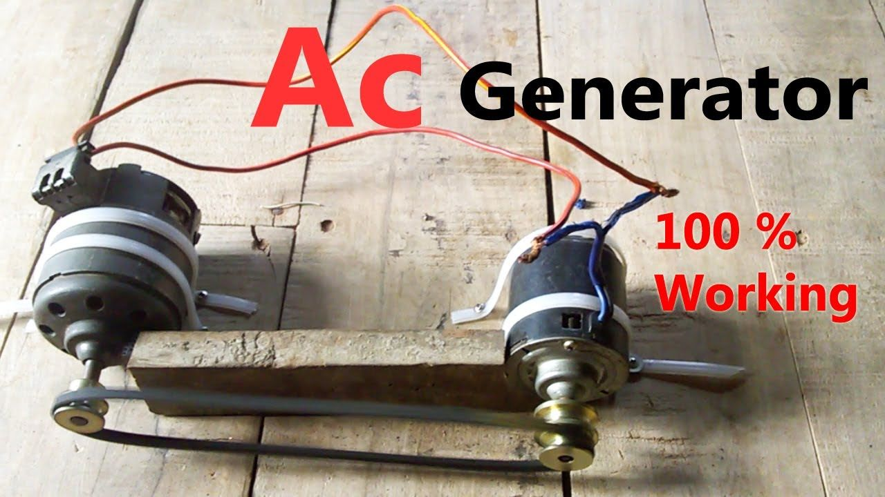 Ac Generator 220 Volt Free Energy Part 1 Et Discover Good Ideas Wiring