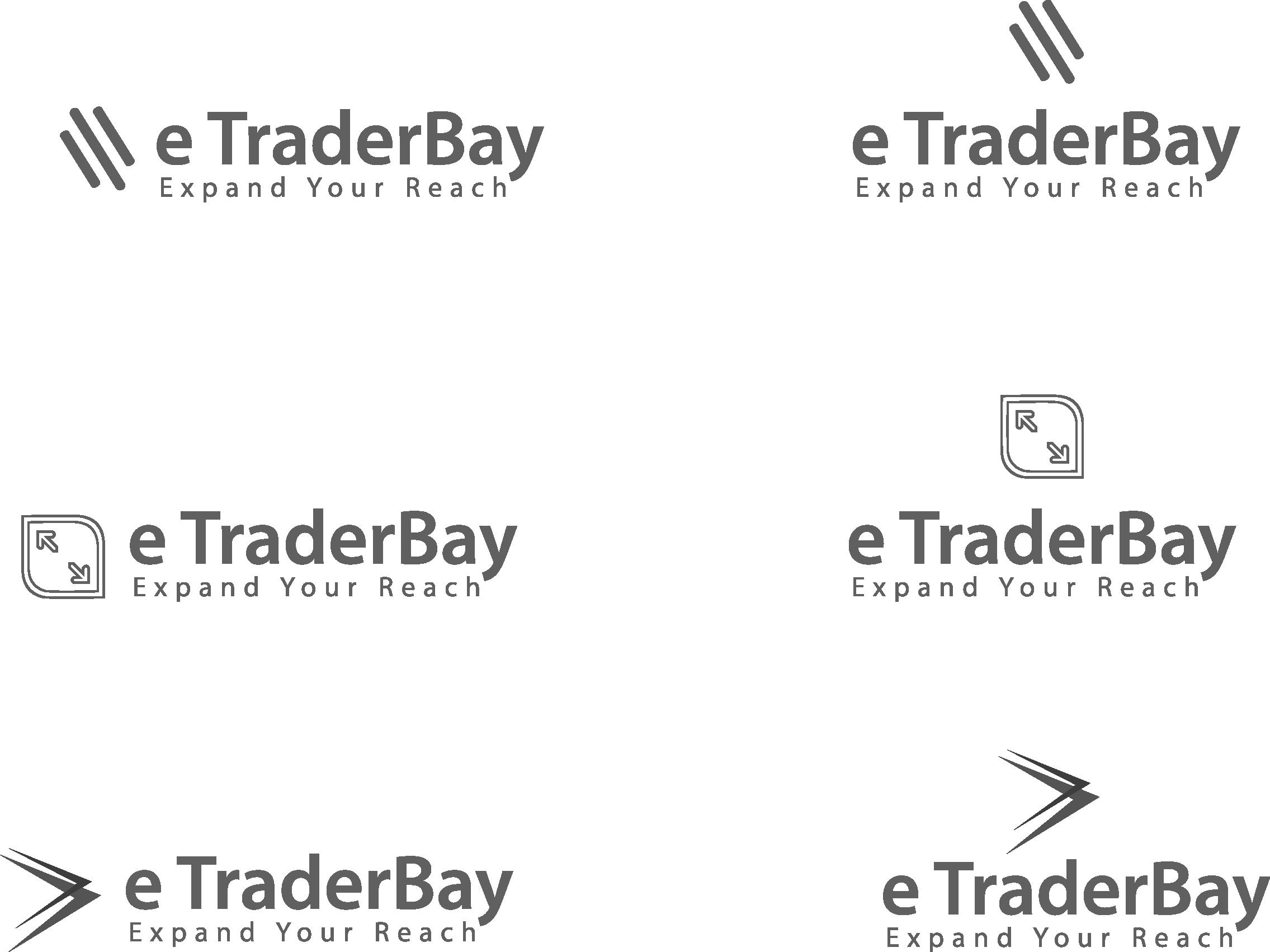 E Trader Logo In 2020 Poster Invitation Card Banner Business Design