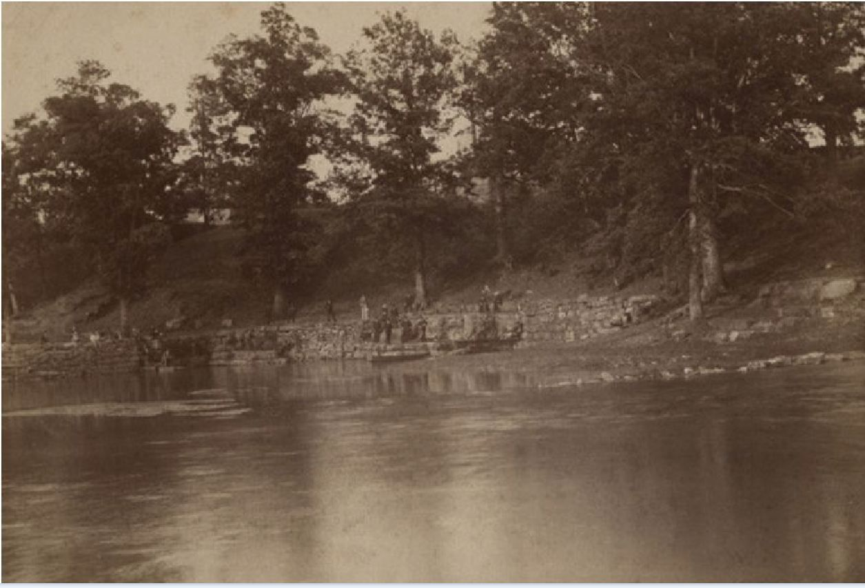 Spring Park Tuscumbia Alabama early 1900s