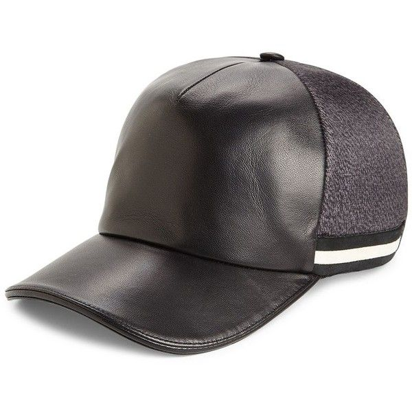 super popular 973c4 8d2cc Bally Men s Swiss Army Baseball Cap ( 370) ❤ liked on Polyvore featuring  men s fashion
