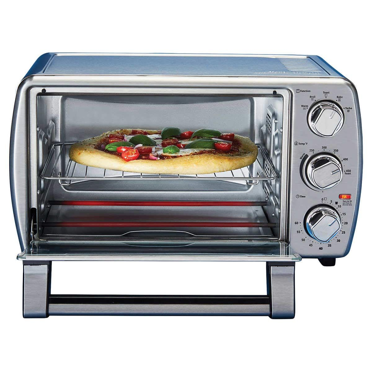 Oster Countertop Oven With Convection Stainless Steel Tssttvcg05