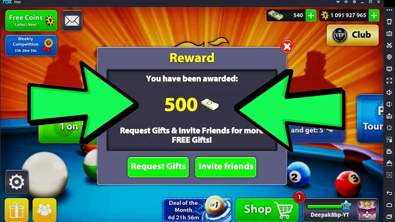 How Do I Get 10 Million Coins And 1 000 Cash Free In 8 Ball Pool