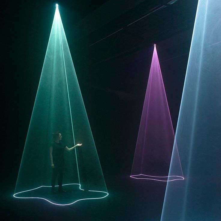 AURA Interactive Audiovisual Installation by Nick Verstand #lightartinstallation