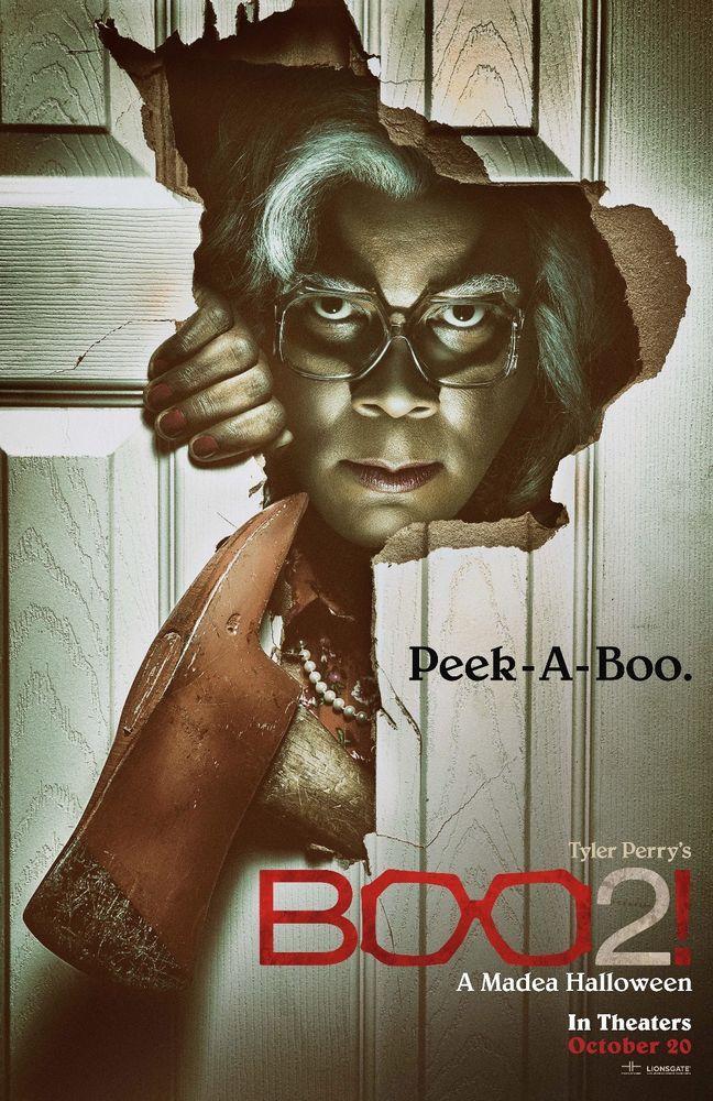 Boo 2! A Madea Halloween Movie Poster 2017 Comedy Film Art 13x20 ...