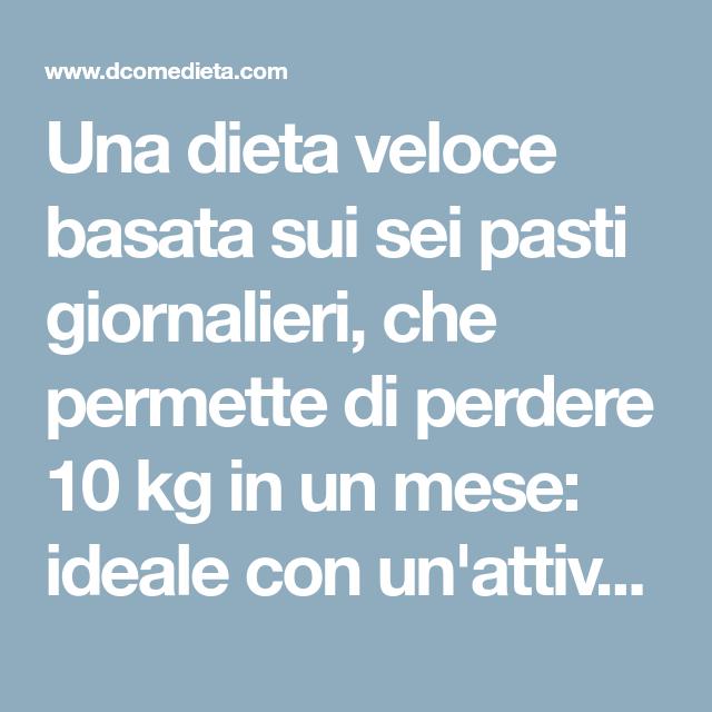 dieta sana per perdere 10 chili in chili