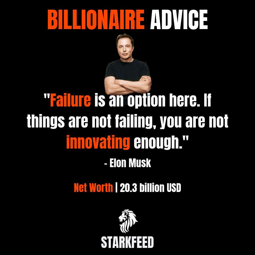 Elon Musk Advice Advice Elon Musk Life Lessons
