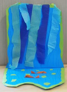 Waterfall Craft Vbs Maybe Vbs 2015 Craft Club Crafts