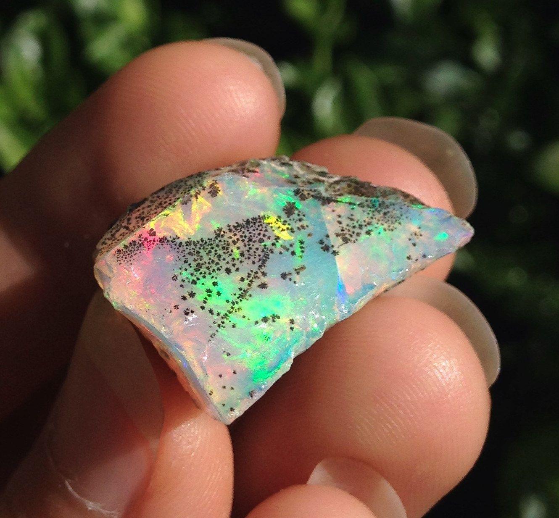 Rainbow Flash Ethiopian Opal Shamanic Journey