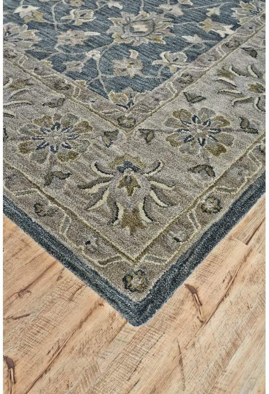 Charlton Home Corsham Hand Tufted Smoke Area Rug In 2019 Rugs
