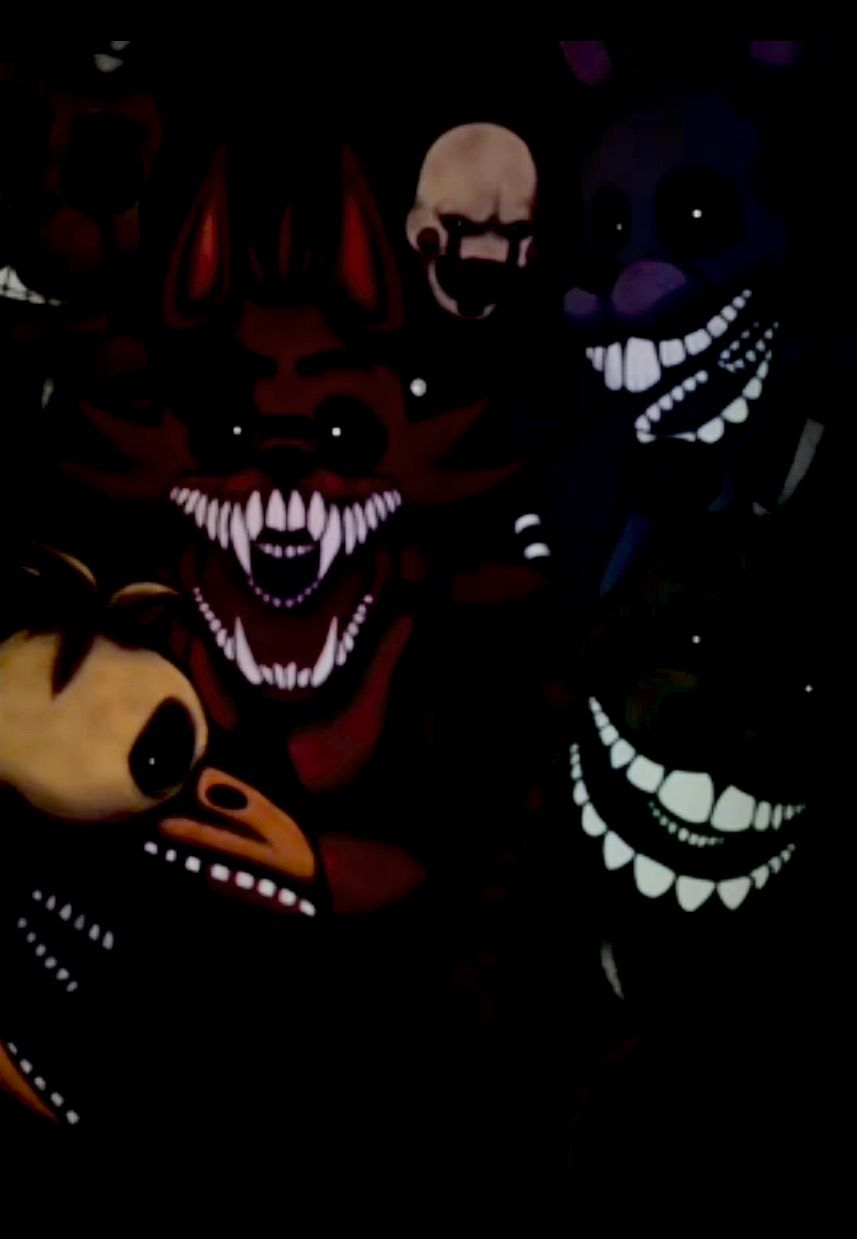 This actually scared me when I swiped over 😂😱 Fnaf