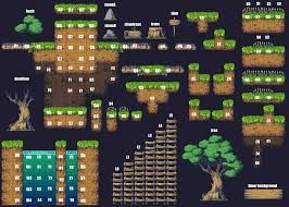 Image result for 2d platformer tilesets | 2D Game Art