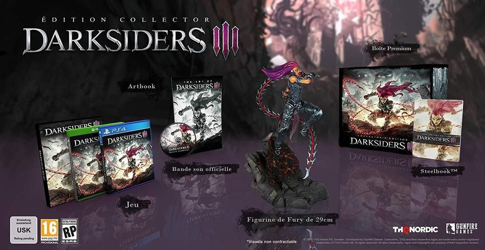 Darksiders Iii 3 Collector S Edition Premium Box With Dlc Ps4