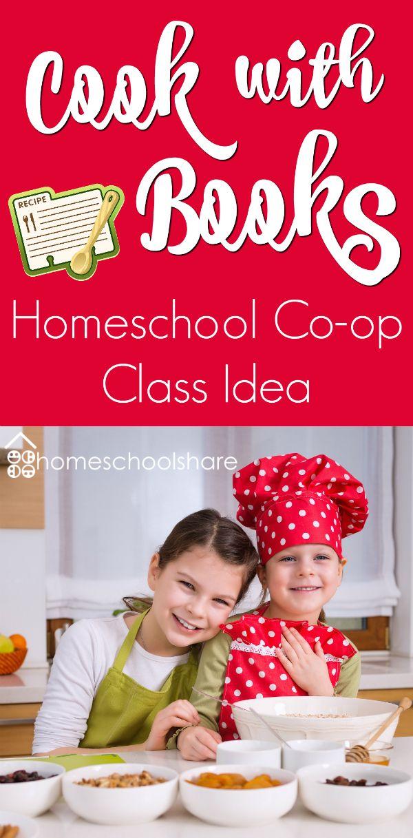 Cook With Books Homeschool Co Op Class Homeschool Share Blog Preschool Cooking Cooking Classes For Kids Homeschool