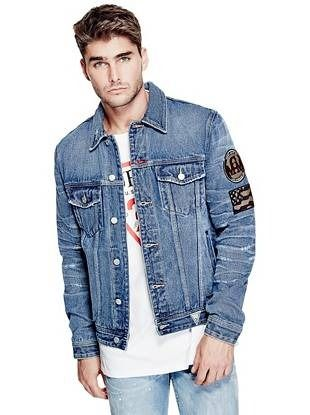 Guess Originals Dillon Jacket Gentlemens Denim q1pSwfq