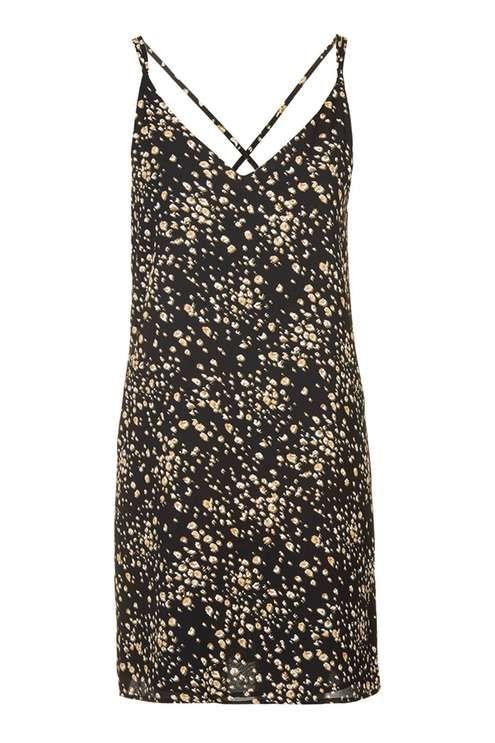 TALL Animal Print Slip Dress