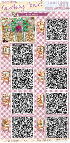 Animal crossing qr codes acnl patterns paths walls for Meubles japonais acnl