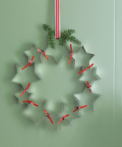 11 cool ways to use your christmas cookie cutters. Black Bedroom Furniture Sets. Home Design Ideas