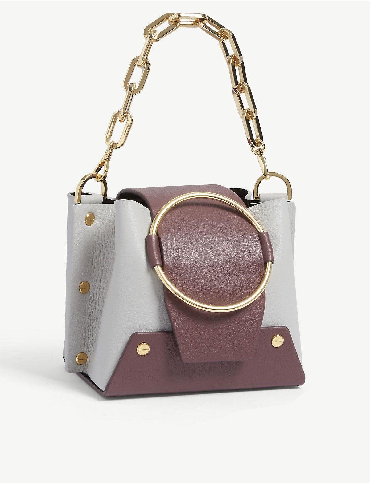 4e804fb405 YUZEFI - Mini Delila leather shoulder bag