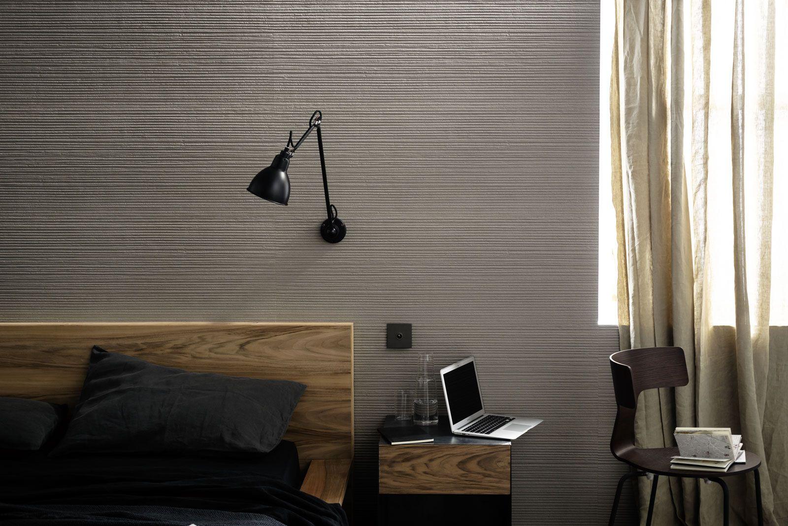 Materika satin concrete effect wall tiles marazzi veggfliser