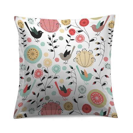 Oh &... Savea Small Square Pillowcase, Pink