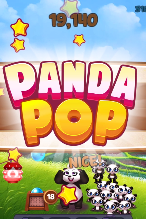 Play the new Panda Pop Game, download today! ads manager
