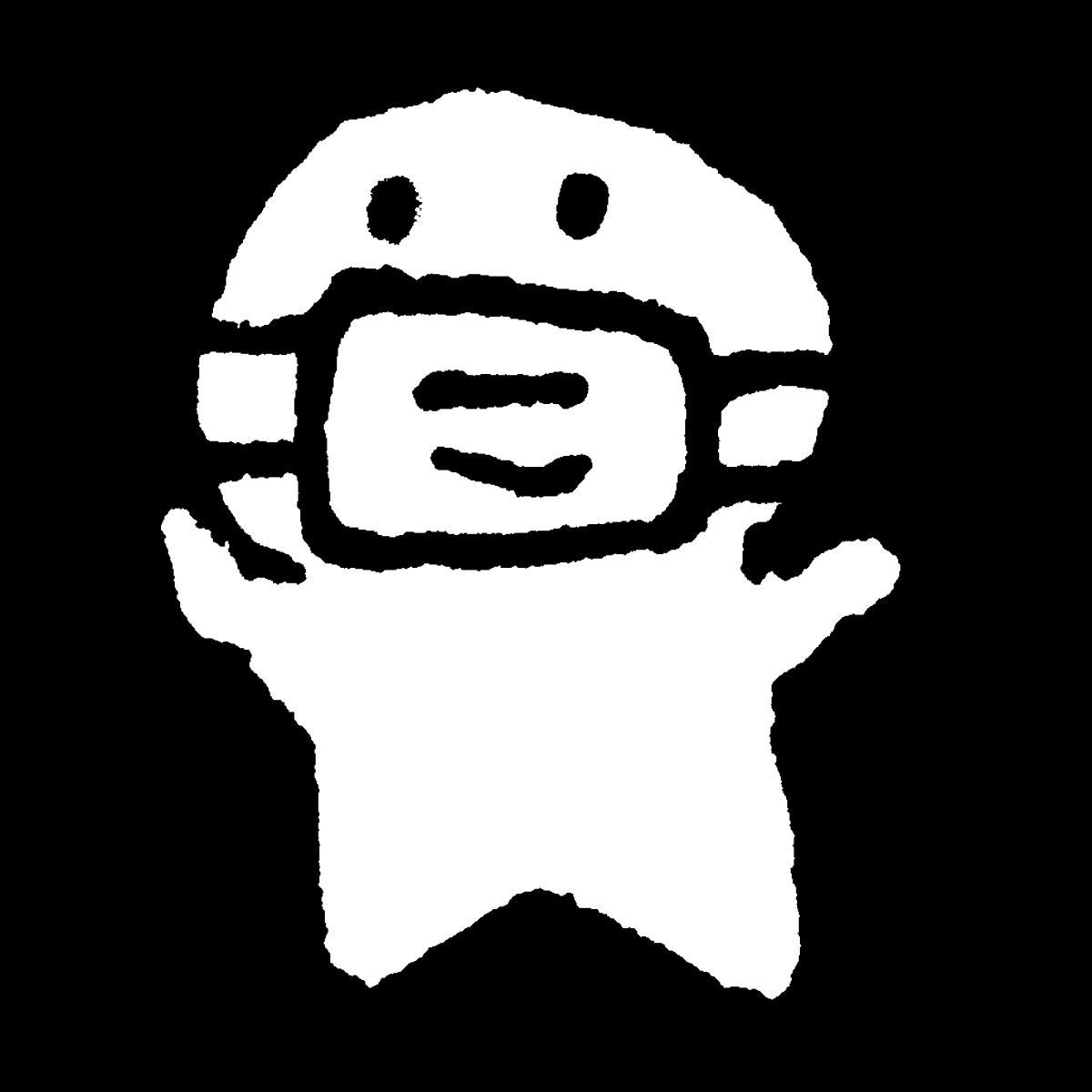 マスク ゆるい