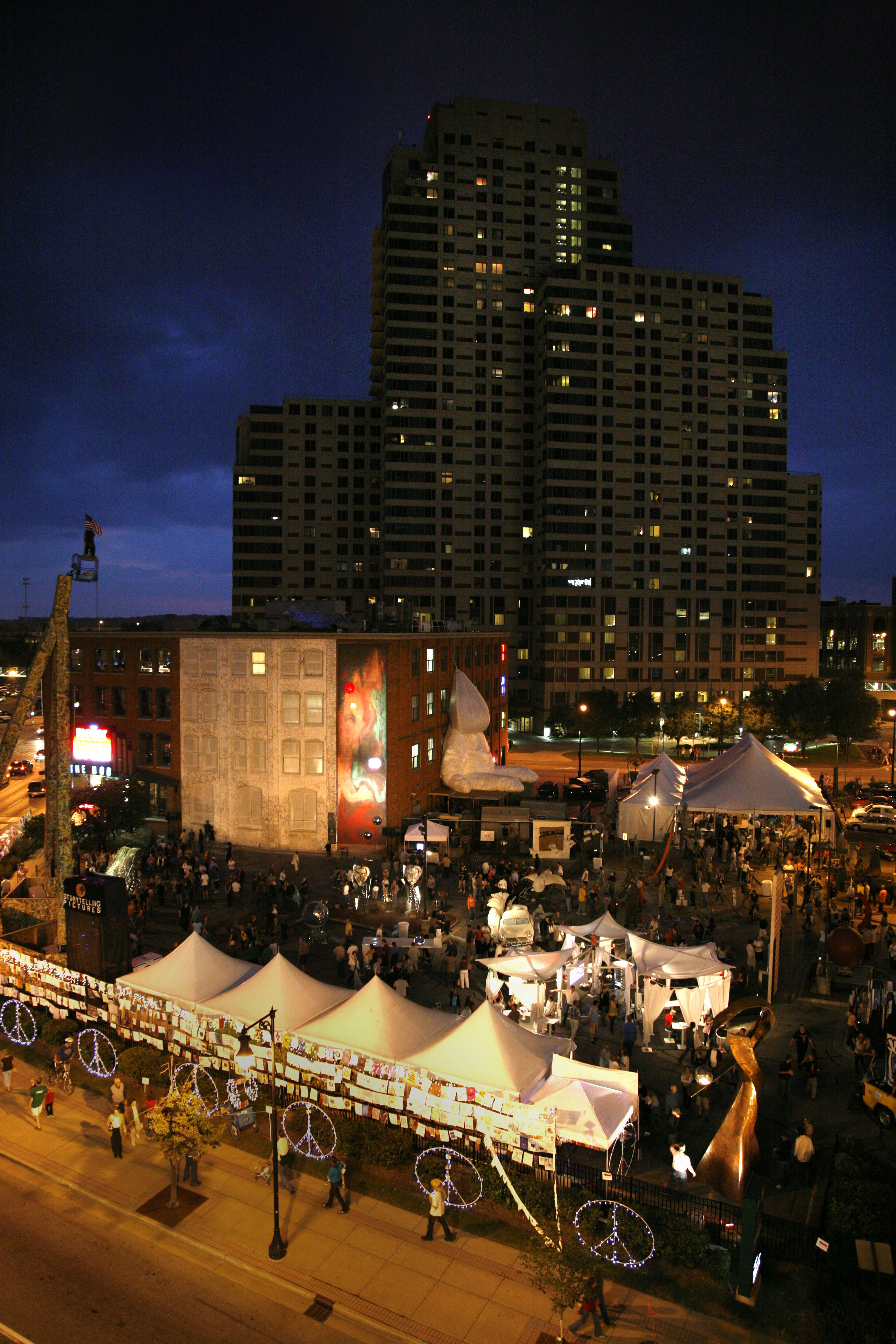 Artprize In Downtown Grand Rapids, Mi I Go Here Every