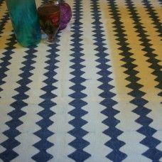 Home Linen - Hand block-printed Indigo Table cover