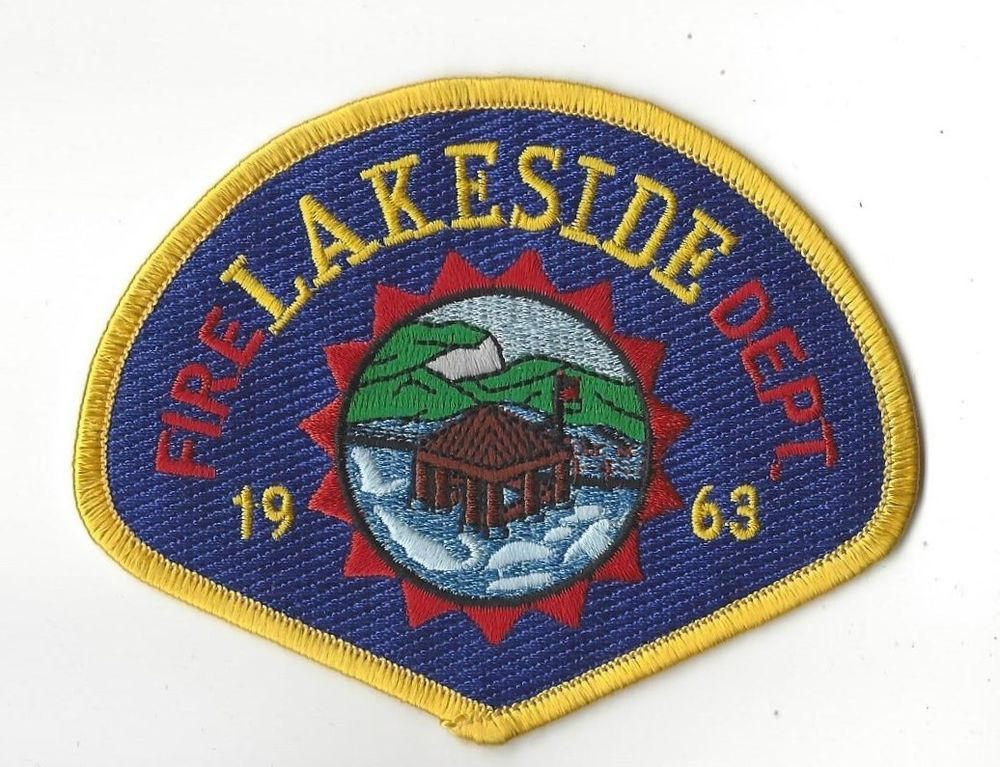 Lakeside CA California Fire Dept  (San Diego County) patch