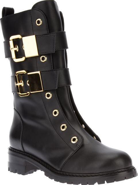 Giuseppe Zanotti Design Lace-less Buckle Boot - Iil7 - Farfetch.com