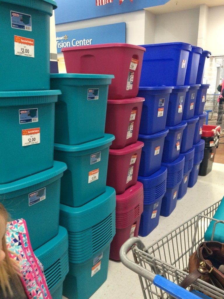 Walmart *HOT* Storage Bins with Lids ONLY $2! - Raining Hot Coupons & Walmart *HOT* Storage Bins with Lids ONLY $2! | Pinterest | Walmart ...