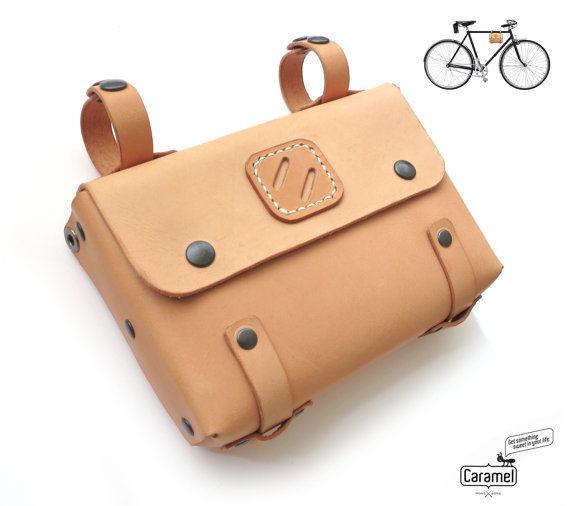 bandolera cuero de bicicleta Bolso por CaramelLeatherCrafts SH6qxB0