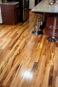 Exotic Brazilian Tigerwood Koa Prefinished Modern