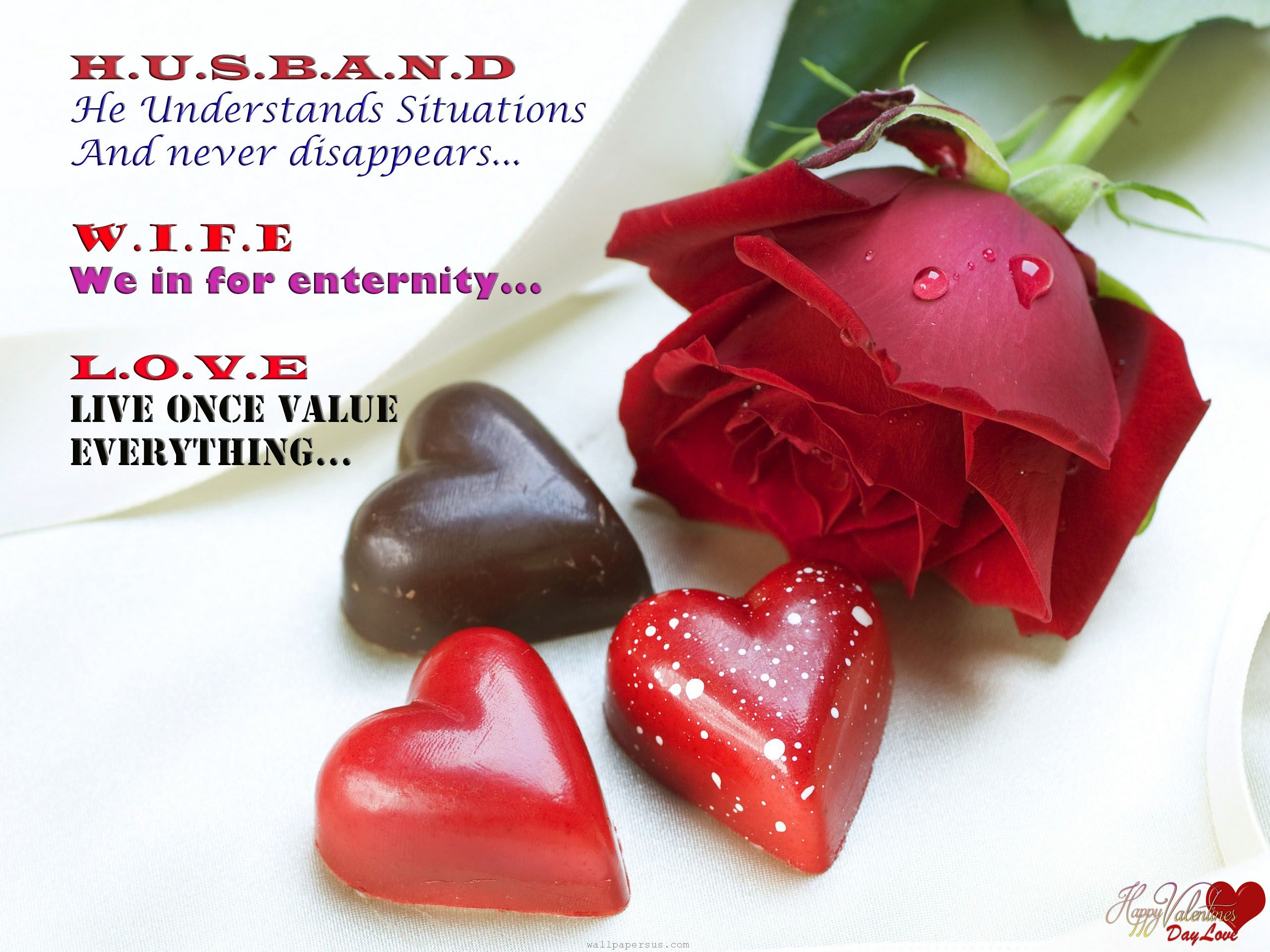 Husband And Wife Valentines Day Quotes 2017 Happy Valentines Day