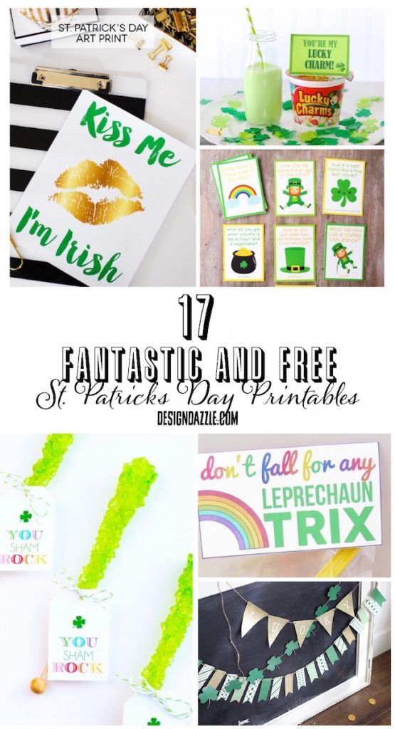17 Fantastic and Free St. Patrick's Day Printables