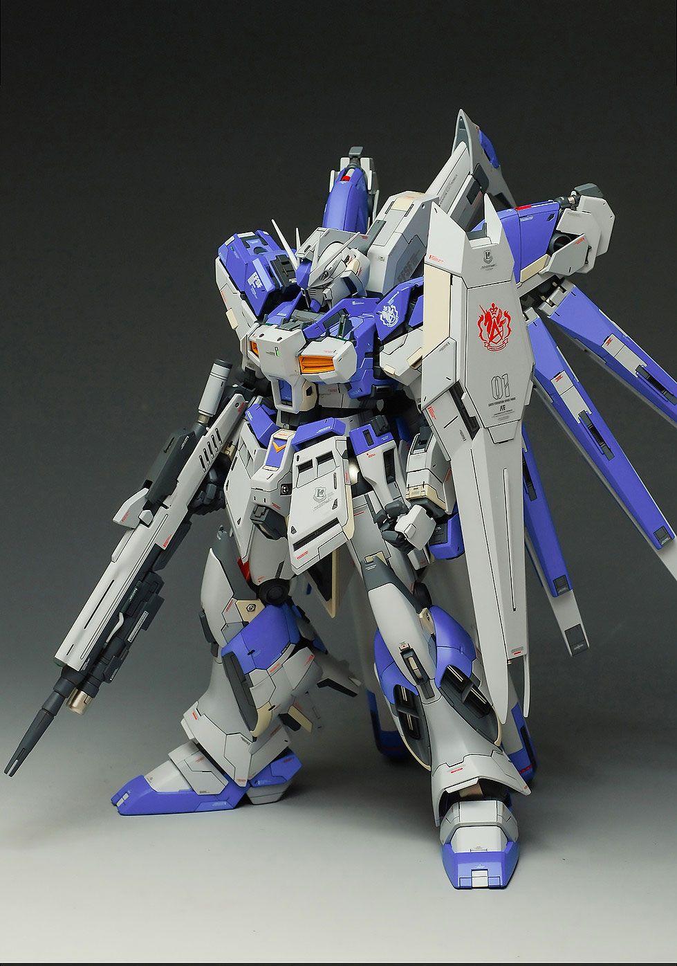 Custom Build Mg 1100 Rx93 Nu Gundam Ver Ka T Rx 93 V Master Grade Daban Model 1 100 Hi Detailed Kits Collection News And Reviews